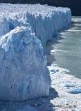 Glaciar de Perito Moreno - la Argentina imagen de archivo