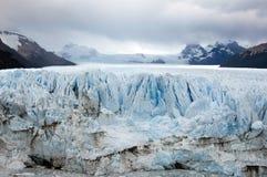 Glaciar de Perito Moreno - la Argentina Imagenes de archivo