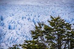 Glaciar de Perito Moreno, la Argentina Foto de archivo