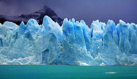 Glaciar de Perito Moreno, la Argentina Fotos de archivo