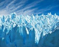 Glaciar de Perito Moreno, patagonia, la Argentina. Fotografía de archivo