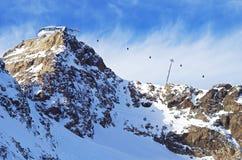 Glaciar de Pitztal, Austria Fotos de archivo