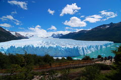 Glaciar de Puerito Moreno Imagen de archivo libre de regalías