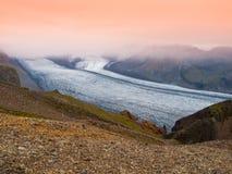 Glaciar de Skaftafell Fotos de archivo libres de regalías