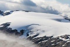 Glaciar de Skjerdingdalsbreen Imagen de archivo