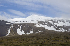 Glaciar de Snaefellsjokull Fotografía de archivo
