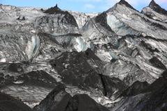Glaciar de Solheimajokull Imágenes de archivo libres de regalías