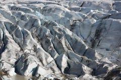 Glaciar de Svinafellsjokull Imagen de archivo