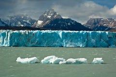 Glaciar de Upsala Imágenes de archivo libres de regalías