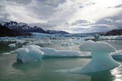 Glaciar de Upsala Fotos de archivo libres de regalías