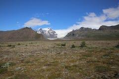 Glaciar de Vatnajokull Foto de archivo