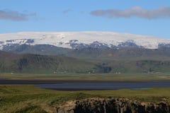 Glaciar de Vatnajokull Imágenes de archivo libres de regalías