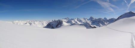 Glaciar de Vouasson Imágenes de archivo libres de regalías