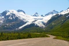 Glaciar de Worthington Fotos de archivo libres de regalías
