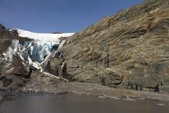 Glaciar de Worthington Fotos de archivo