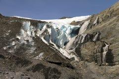 Glaciar de Worthington Imagenes de archivo