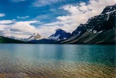 Glaciar del arco en Jasper National Park, AB, Canadá fotos de archivo libres de regalías