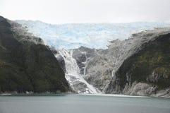 Glaciar del claxon del cabo Fotografía de archivo