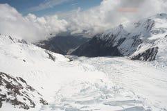 Glaciar del Fox Imagen de archivo libre de regalías
