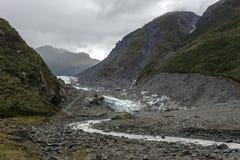 Glaciar del Fox Foto de archivo