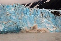 Glaciar del niño en Alaska foto de archivo