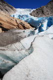 Glaciar del norte Foto de archivo