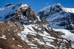 Glaciar del retroceso Imagenes de archivo