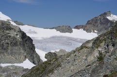 Glaciar del tren Foto de archivo libre de regalías