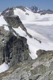 Glaciar del tren Foto de archivo
