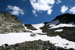 Glaciar del verano Fotos de archivo
