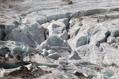 Glaciar, detalle del iceberg Imágenes de archivo libres de regalías
