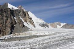 Glaciar Dugoba, Pamir-alay Imagenes de archivo