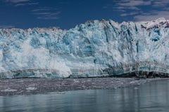 Glaciar e hielo de Hubbard Fotos de archivo