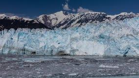 Glaciar e hielo de Hubbard Fotografía de archivo