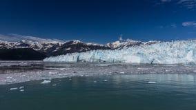Glaciar e hielo de Hubbard Imagenes de archivo