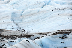 Glaciar en bahía Fotos de archivo libres de regalías