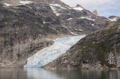 Glaciar en Groenlandia Imagen de archivo libre de regalías