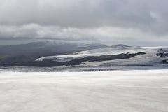 Glaciar en Islande Photo libre de droits