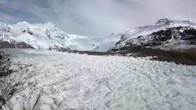 Glaciar en Islandia almacen de video