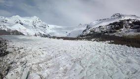 Glaciar en Islandia metrajes