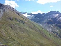 Glaciar en las montañas suizas foto de archivo