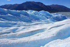 Glaciar en parque nacional Fotografía de archivo