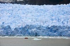 Glaciar en Patagonia - Chile de San Rafael fotos de archivo