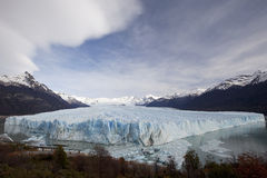 Glaciar enorme Foto de archivo libre de regalías