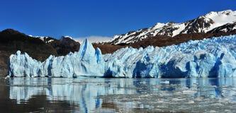 Glaciar grå färger Royaltyfria Foton