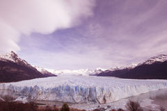 Glaciar grande Imagenes de archivo
