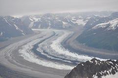 Glaciar grande Foto de archivo