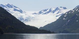 Glaciar grande del fiordo de Kenai Imágenes de archivo libres de regalías