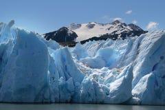 Glaciar gris foto de archivo