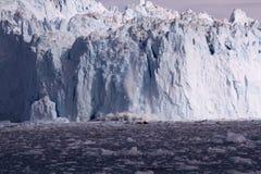 Glaciar Groenlandia del hielo Foto de archivo libre de regalías